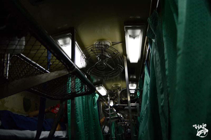De Koh Tao a Bangkok en tren nocturno.