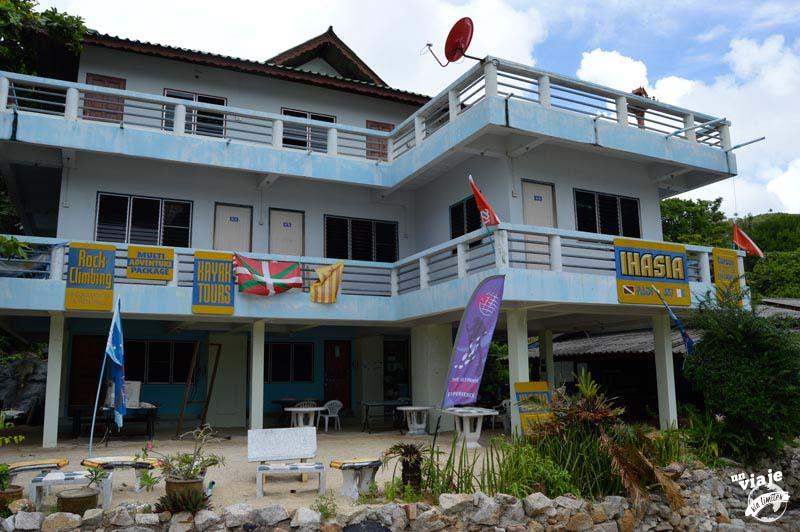 Centro de buceo en Español en Koh Tao. Tailandia.