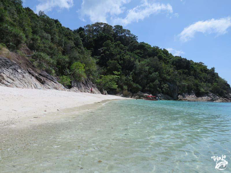 Playas paradisiacas de Malasia.