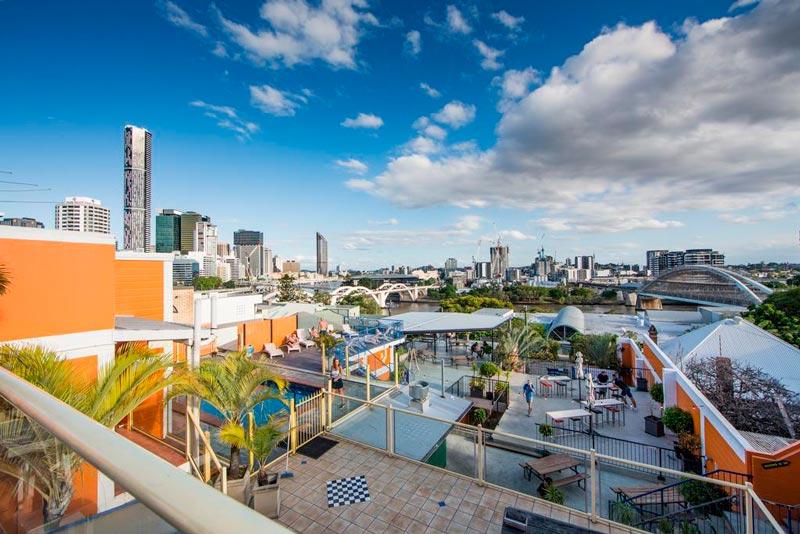 City Backpacker, hostal barato de Brisbane.