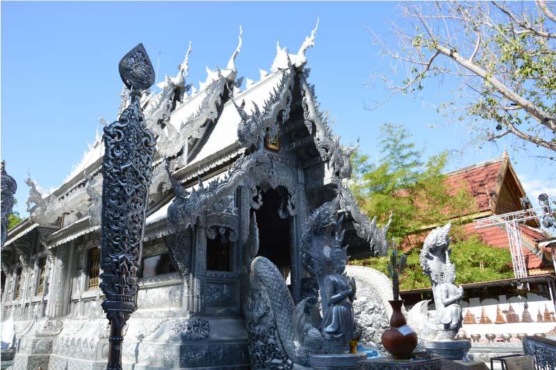 Templo de plata, Wat Sri Suphan, Chiang Mai.