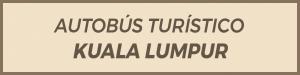 autobus turistico, Kuala lumpur, Malasia. Hop on, hop off.