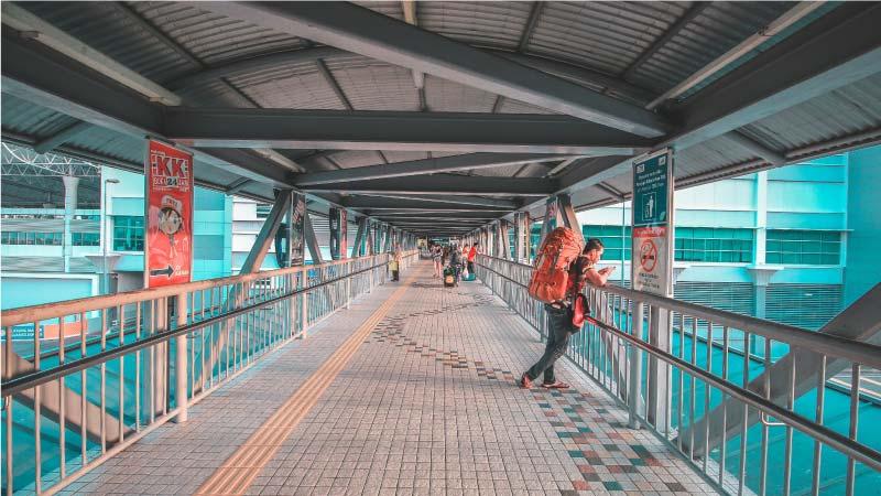 Estación TBS, Kuala Lumpur.