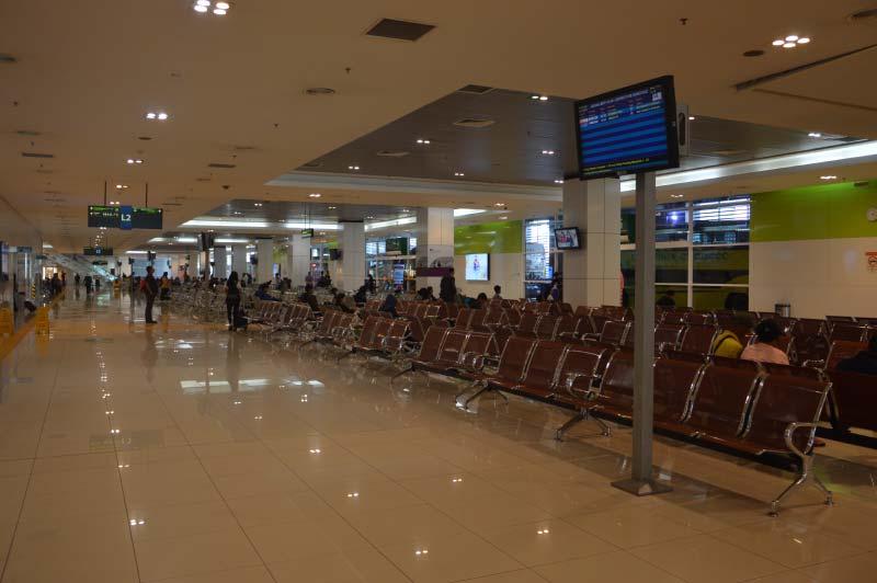 Sala de espera, estación BTS, Kuala Lumpur, Malasia.