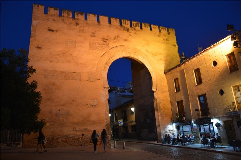 Puerta de Elvira, Granada.